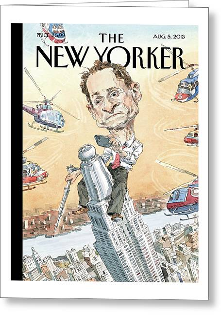 New Yorker August 5th, 2013 Greeting Card
