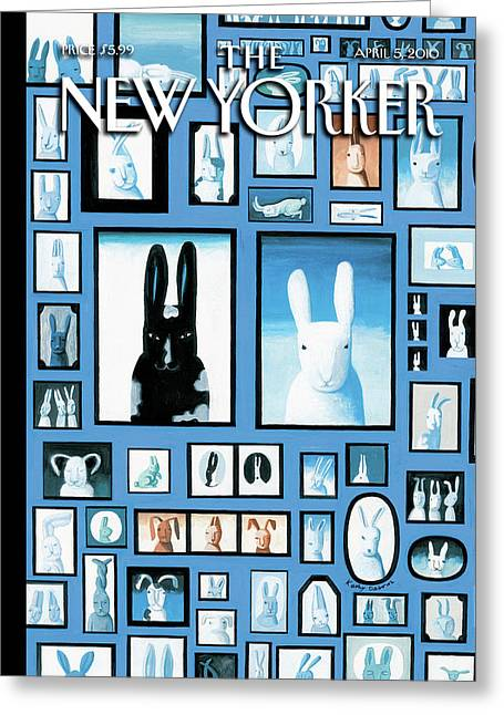 New Yorker April 5th, 2010 Greeting Card
