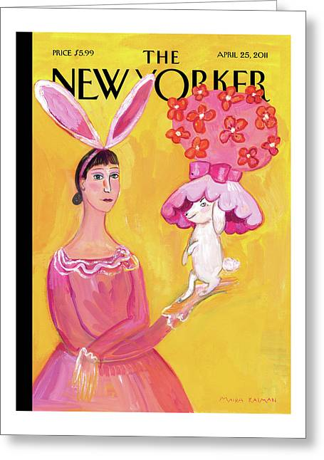 New Yorker April 25th, 2011 Greeting Card