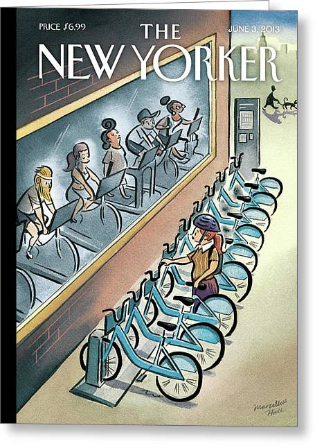 New Yorker June 3, 2013 Greeting Card