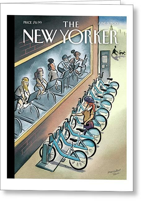 New Yorker June 3, 2013 Greeting Card