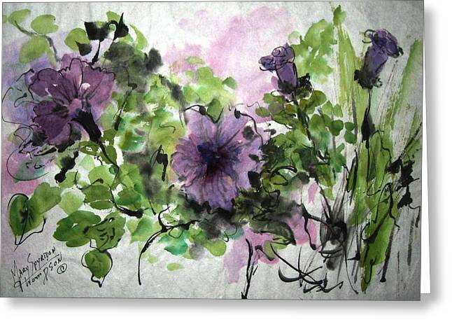 Untitled Greeting Card by Mary Spyridon Thompson