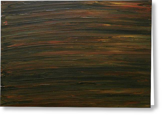 Untitled Painting 21 Greeting Card by Drew Shourd