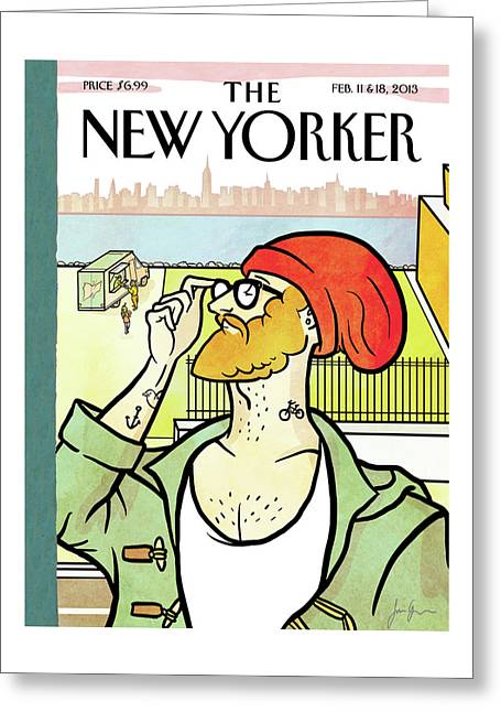 New Yorker February 11th, 2013 Greeting Card