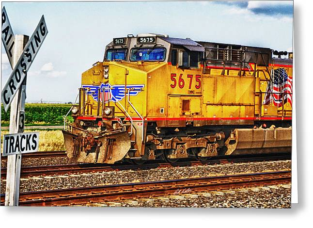 Greeting Card featuring the photograph Up 5675 by Bill Kesler