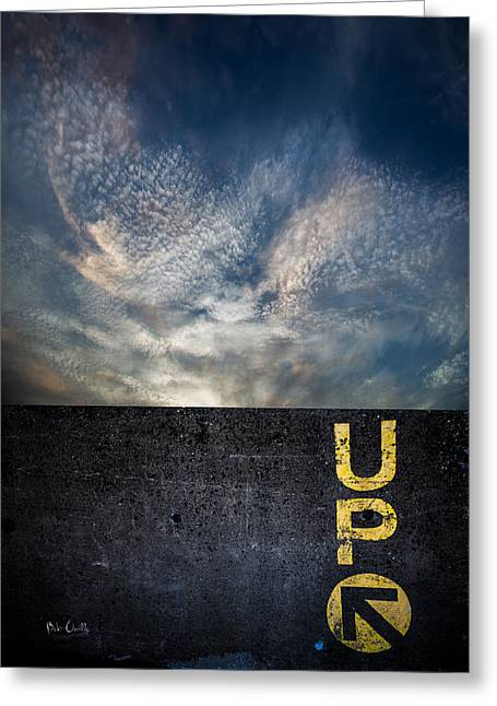 Up At Sunrise Greeting Card by Bob Orsillo