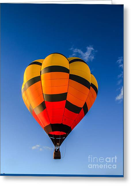 Up Up And Away Greeting Card by Robert Bales