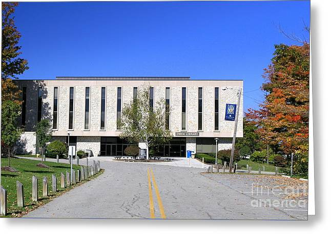 Upj Library Greeting Card