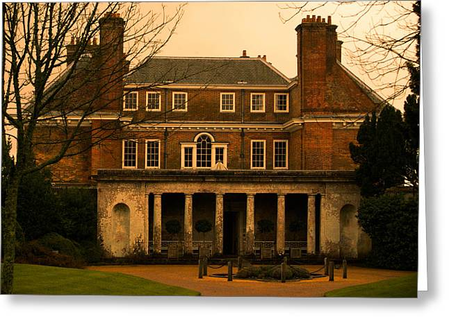 Uppark House Greeting Card by Tracey Beer