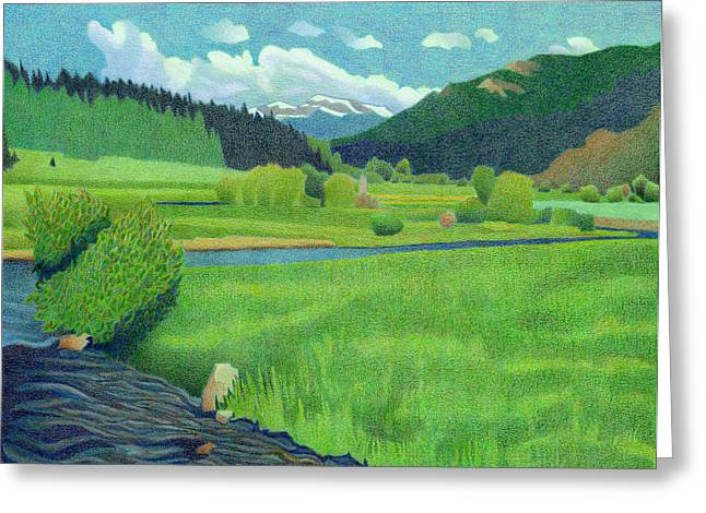 Upper Bear Creek Colorado Greeting Card