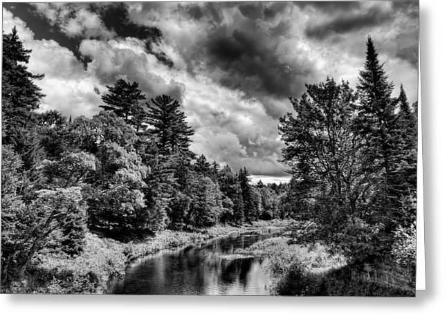 Upper Branch Of The Moose River Greeting Card