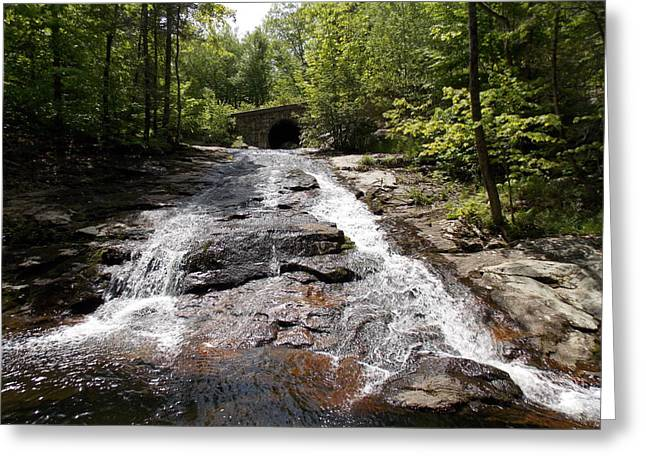 Upper Chapel Brook Falls Greeting Card