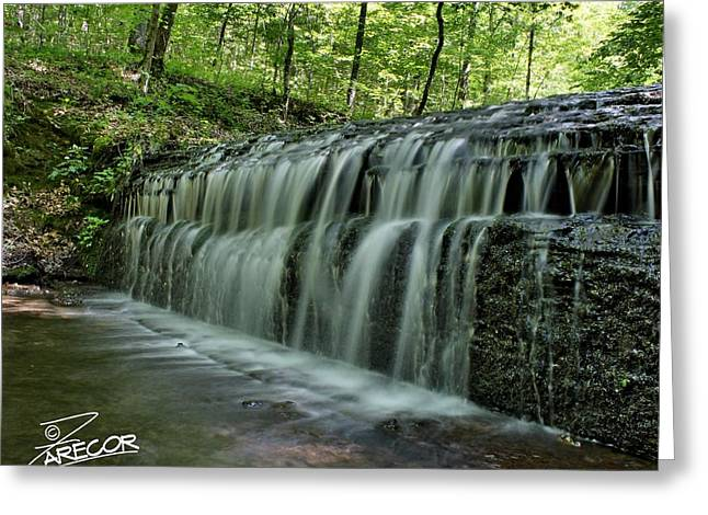 Upper Falls At Stillhouse Hollow Greeting Card