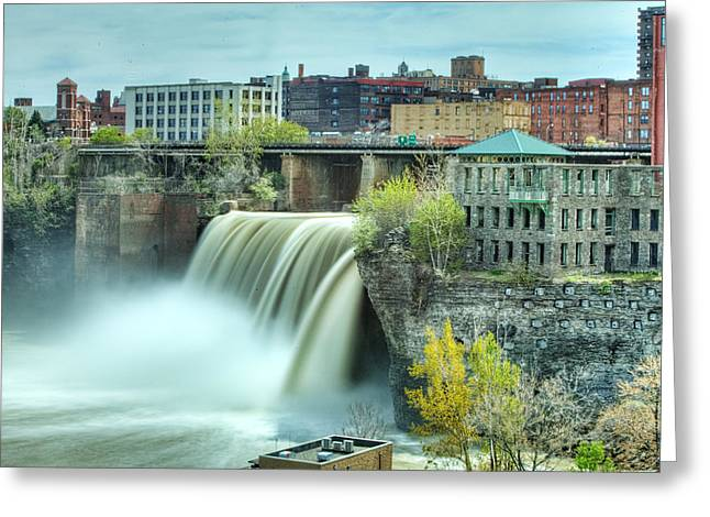 Upper Falls Greeting Card