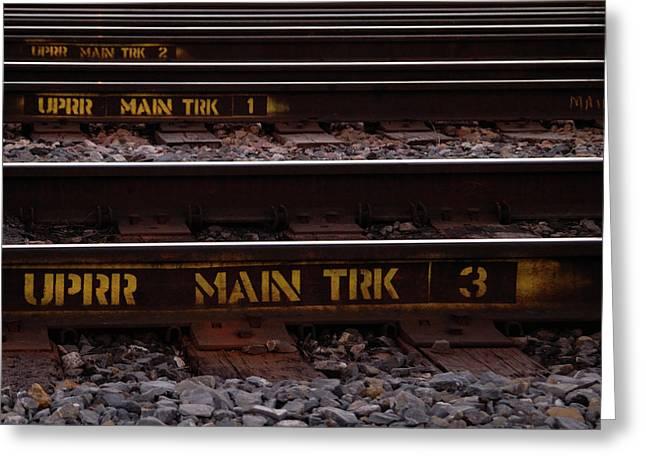 Upper Main Track Greeting Card