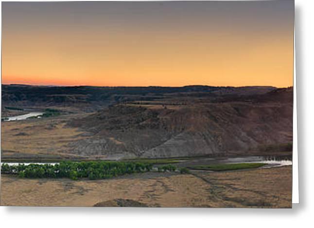 Upper Missouri Panoramic Greeting Card