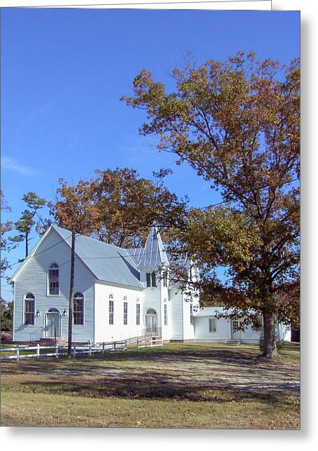 Upper Neck Church Greeting Card
