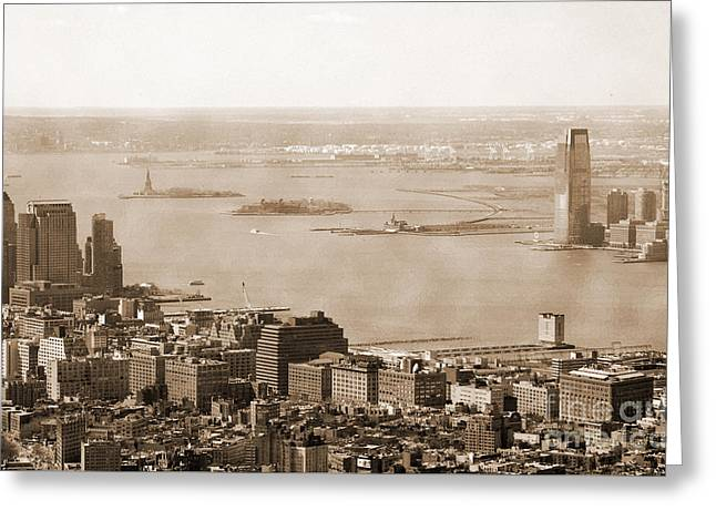 Upper New York Bay Vintage Greeting Card