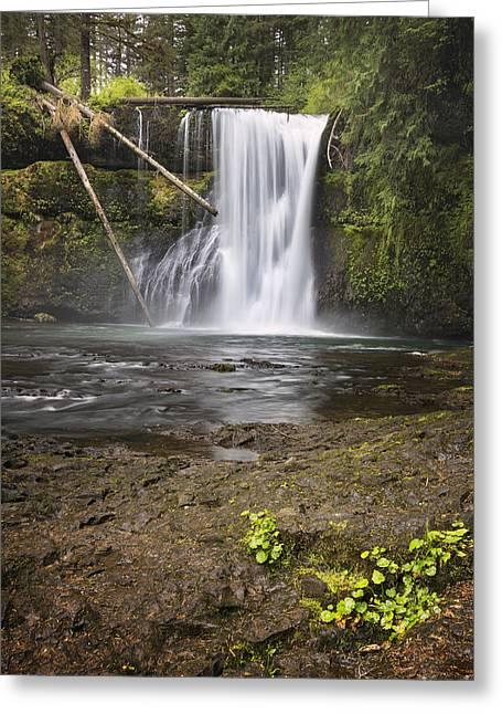 Upper North Falls Greeting Card