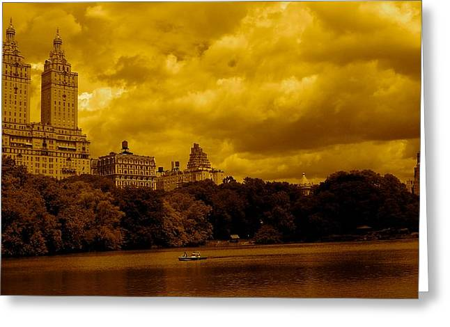 Upper West Side And Central Park Greeting Card