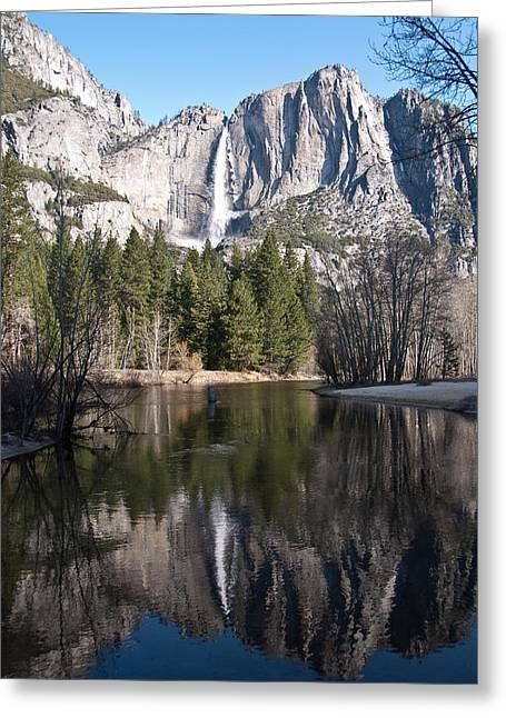 Upper Yosemite Fall Greeting Card