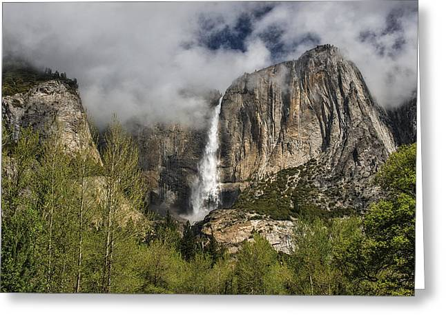 Upper Yosemite Falls Greeting Card
