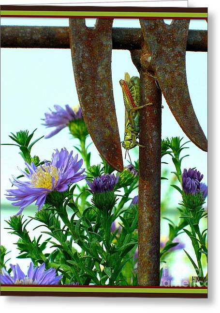 Greeting Card featuring the photograph Upside Down by Heidi Manly