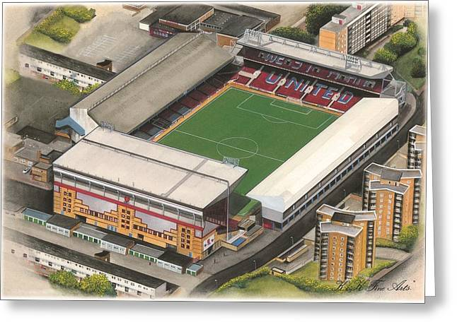 Upton Park - West Ham United Greeting Card