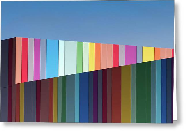 Urban Candy Greeting Card by Gregory Evans
