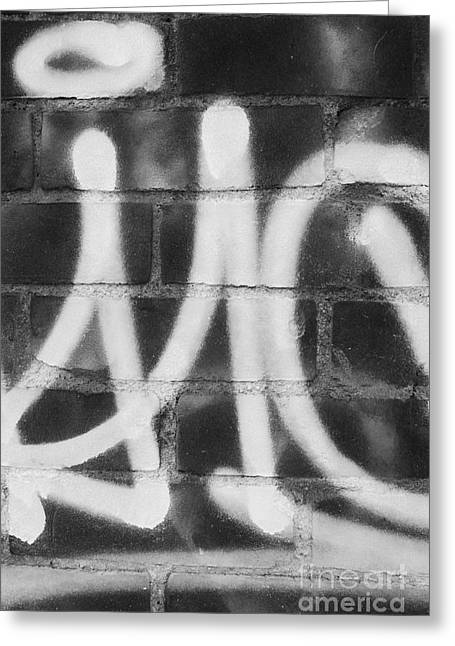 Urban Graffiti Abstract Concord 2015 Greeting Card by Edward Fielding