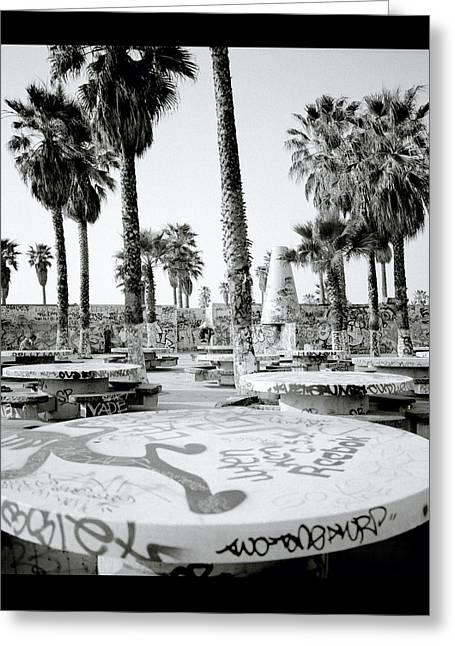 Urban Graffiti  Greeting Card