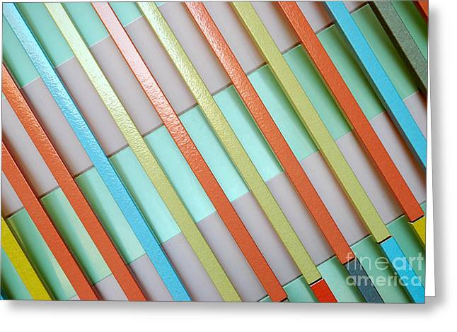 Urban Lines  Greeting Card by Hannes Cmarits