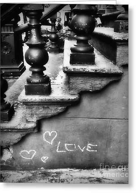Urban Love Greeting Card