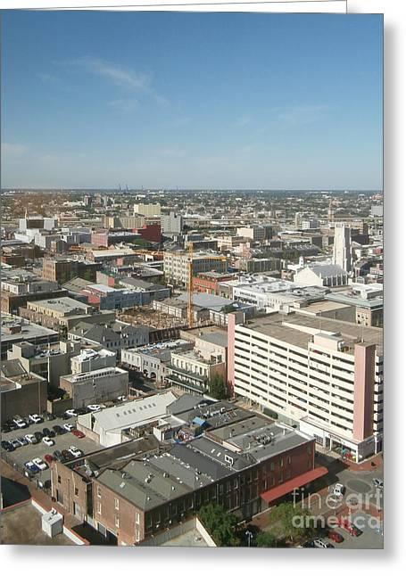 Urban Orleans Greeting Card