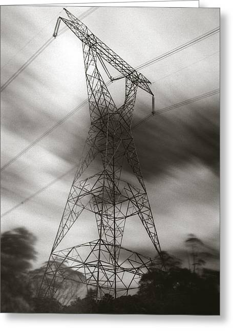 Greeting Card featuring the photograph Urban Totem by Amarildo Correa