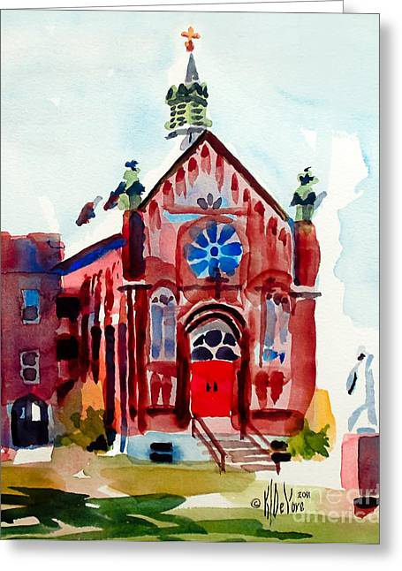 Ursuline II Sanctuary Greeting Card