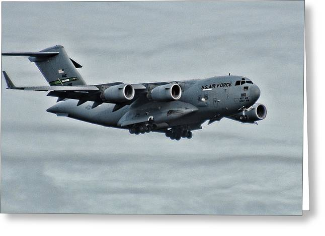 Us Air Force C17 Greeting Card