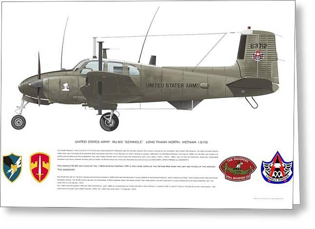 U.s. Army Ru-8d 146th Greeting Card
