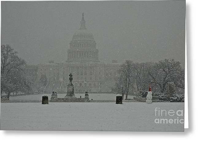 Us Capital 2007 Greeting Card