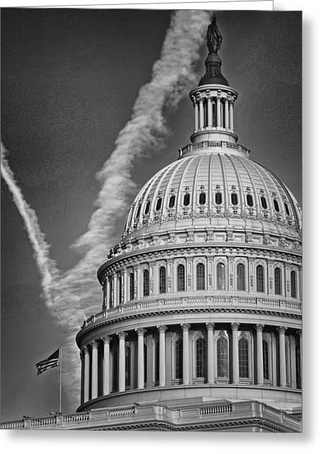 U.s. Capitol Dome Greeting Card by Boyd Alexander