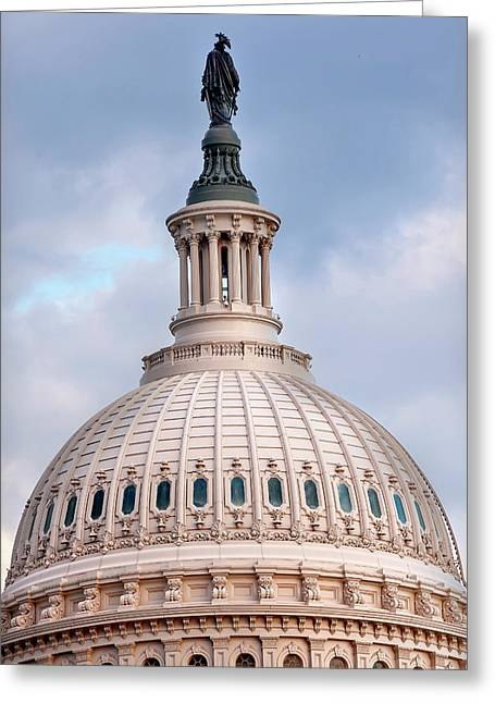 Us Capitol, Washington Dc Greeting Card