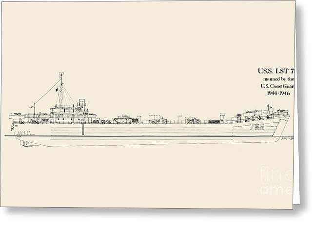 U S  L S T 785 Greeting Card