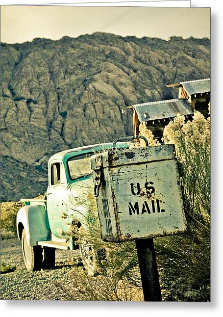 Us Mail Greeting Card by Merrick Imagery
