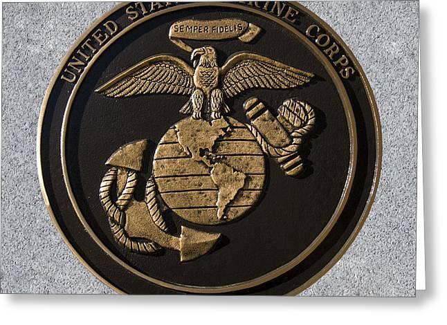 Us Marine Corps Greeting Card