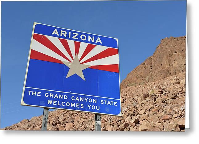 Usa, Arizona, Arizona The Grand Canyon Greeting Card