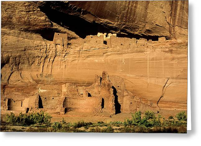 Usa, Arizona, Canyon De Chelly National Greeting Card by Ann Collins