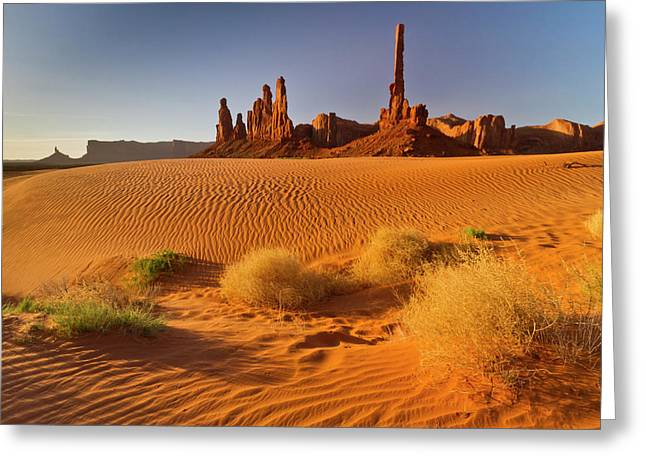 Usa, Arizona, Monument Valley Navajo Greeting Card by Jaynes Gallery