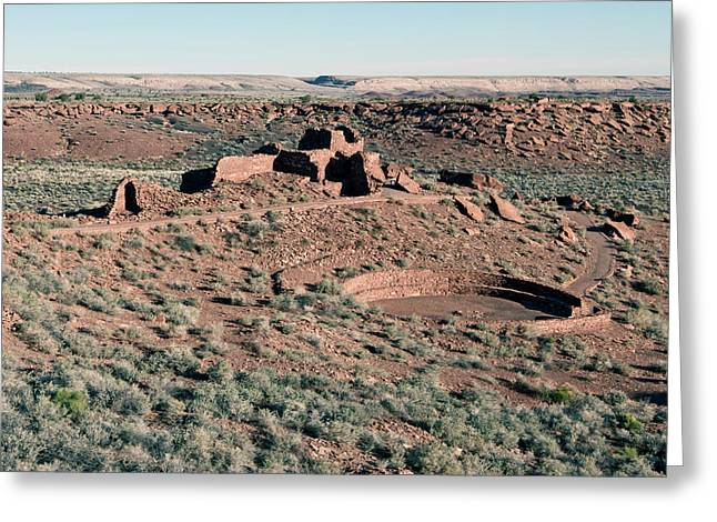 Usa, Arizona Native American Ruins Greeting Card