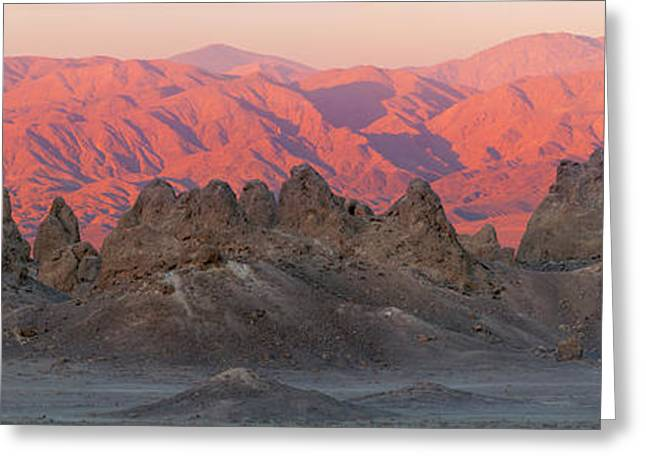 Usa, California Composite Panoramic Greeting Card by Jaynes Gallery
