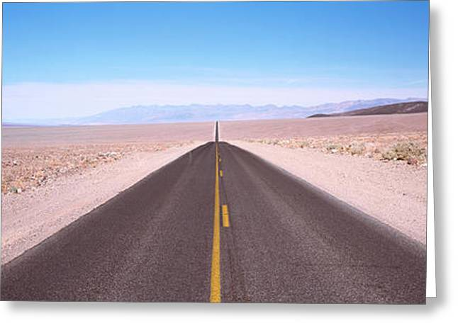 Usa, California, Death Valley, Empty Greeting Card